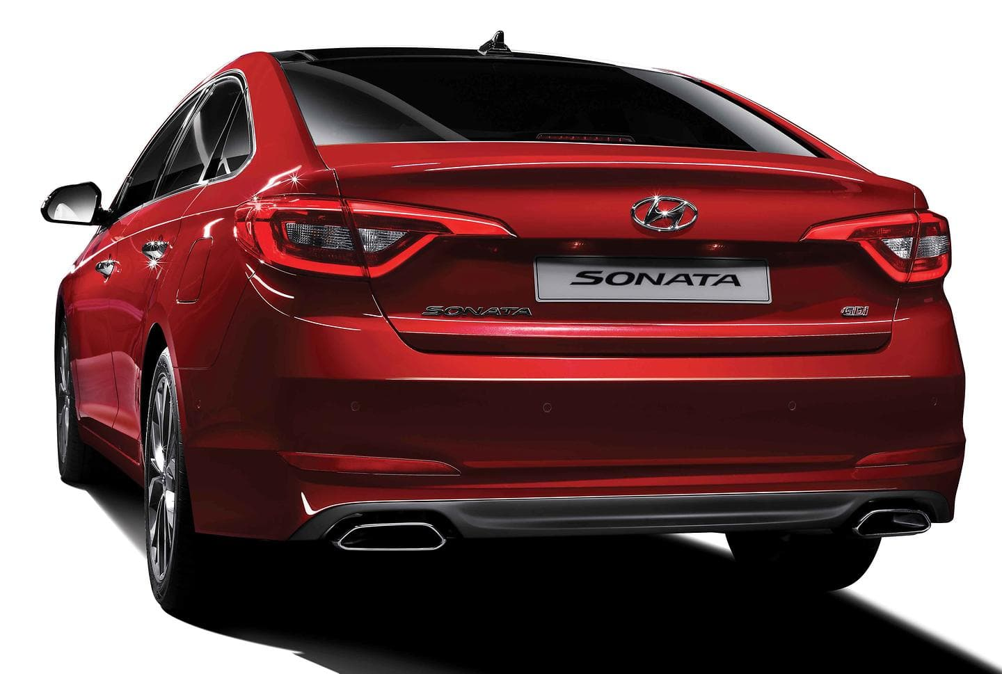All New Sonata rear side view