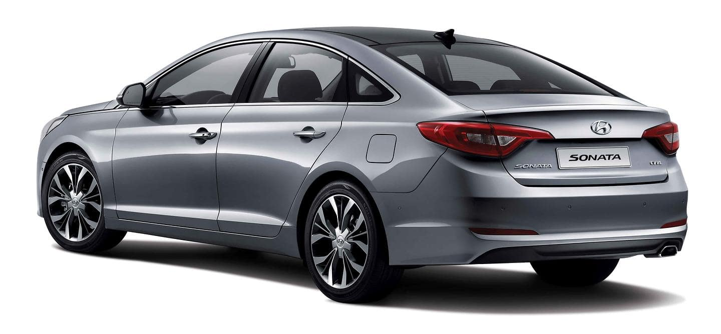 All New Sonata angled view