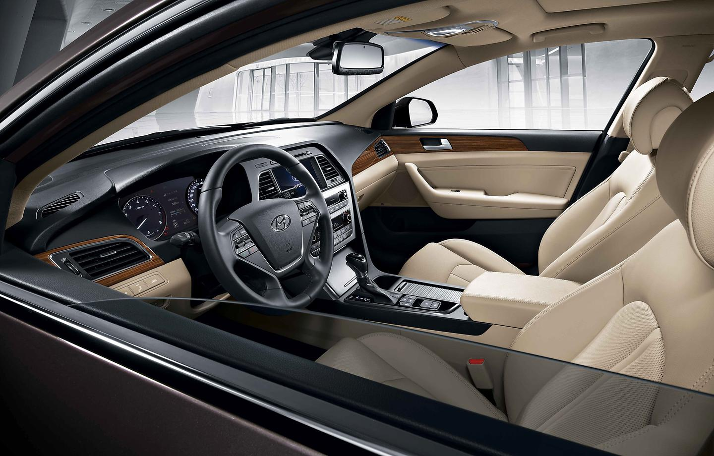 All New Sonata beige interior