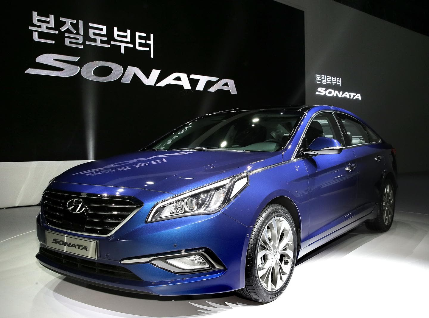 Hyundai Motor Stages World Premiere of Allnew Sonata in Korea