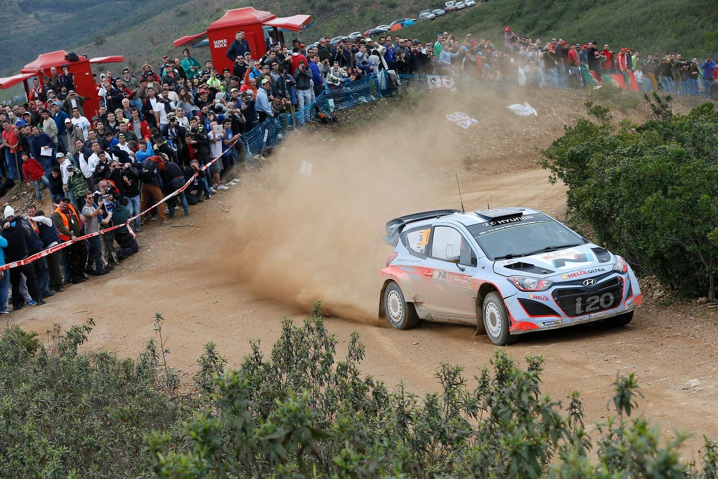 Hyundai Shell WRT Finds Positives After Challenging Rally de Portugal
