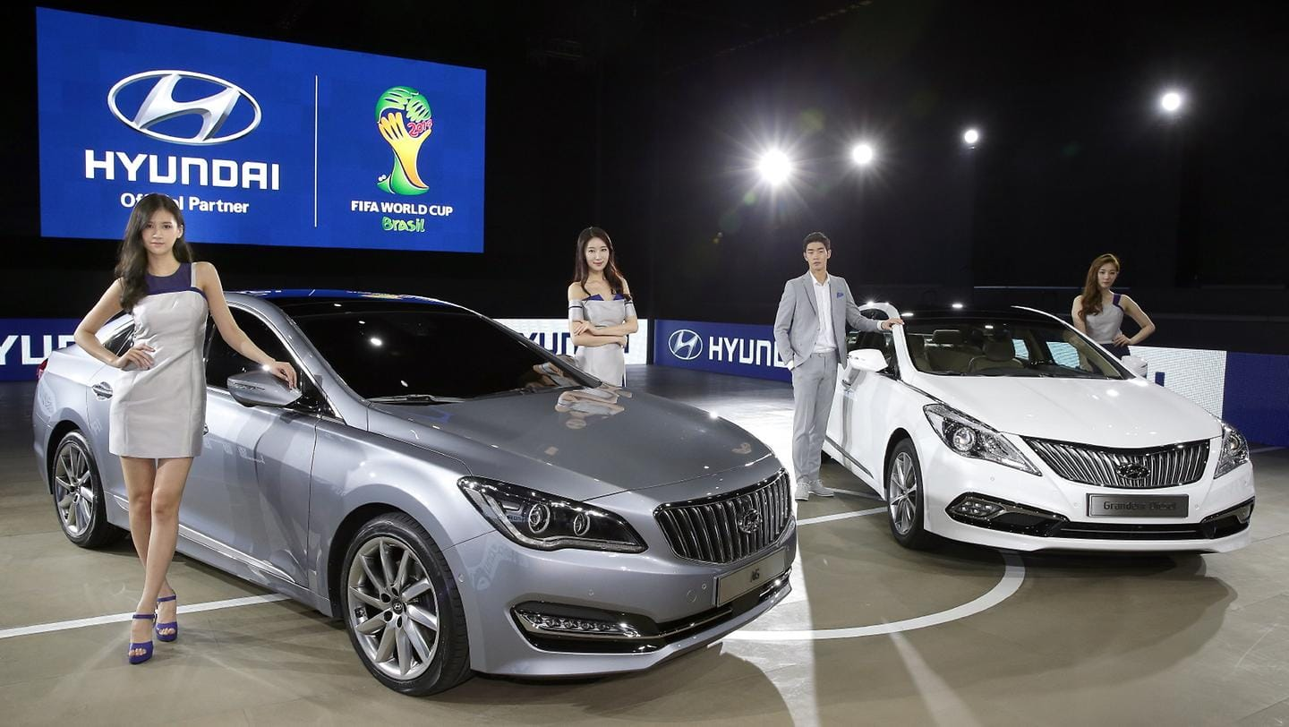 Hyundai Motor Strengthens Large Sedan Line ups at the 2014 Busan International Motor Show
