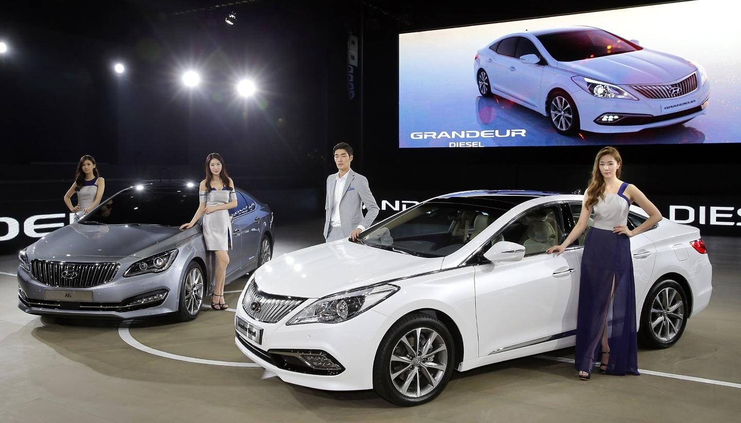 Hyundai Motor Strengthens Large Sedan Line ups at the 2014 Busan International Motor Show 2