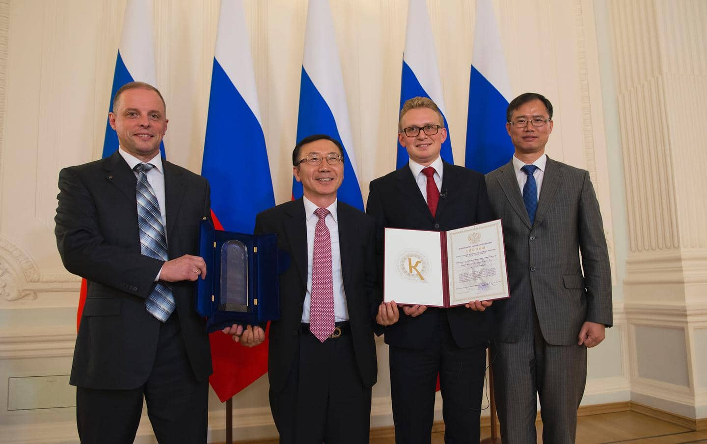 Plant of Hyundai Motor Company received Russian Government Quality Award