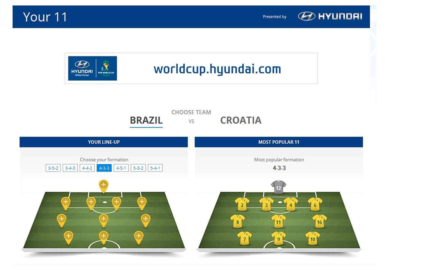 Hyundai Motor Celebrates Start of 2014 FIFA World Cup BrazilTM