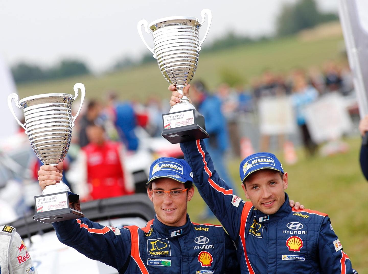 Hyundai Shell WRT scores debut three car finish and closelyfought Polish podium