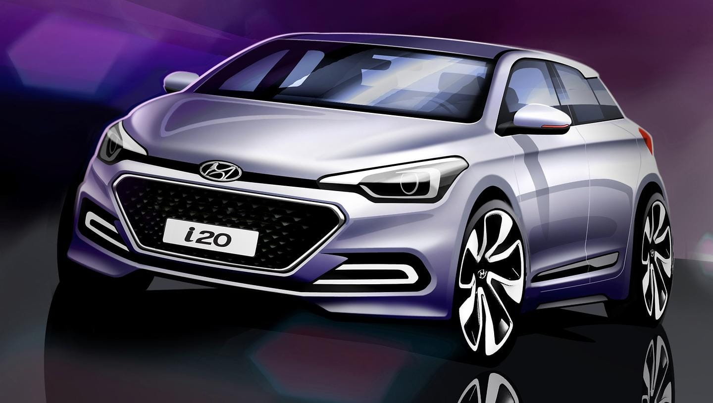 Hyundai Motor Hints At The Style Of The All-New i20