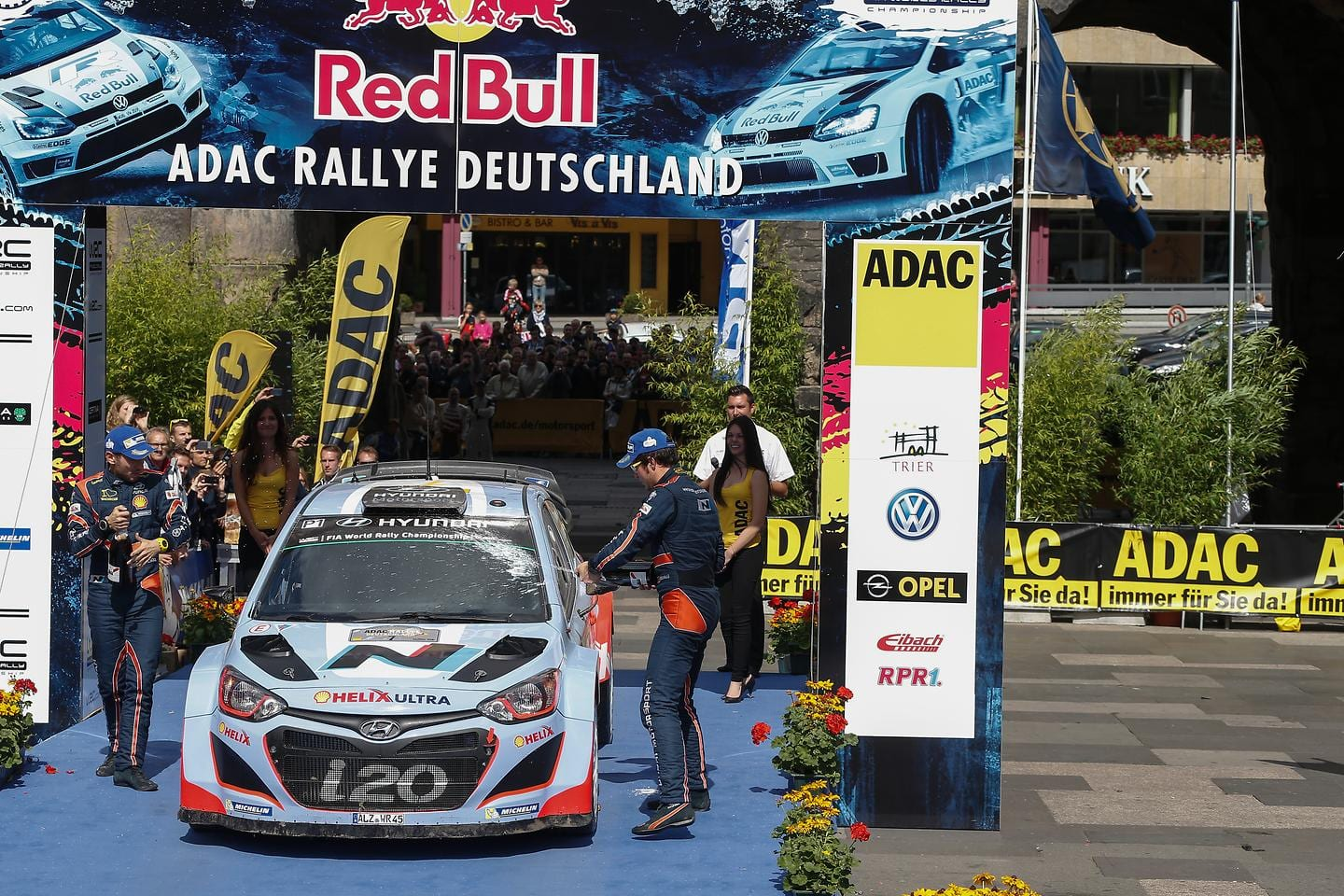Rallye Deutschland Winning Ceremony