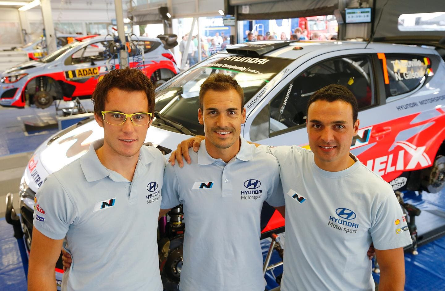 Hyundai Shell World Rally Team confirms driver line up for France and Spain