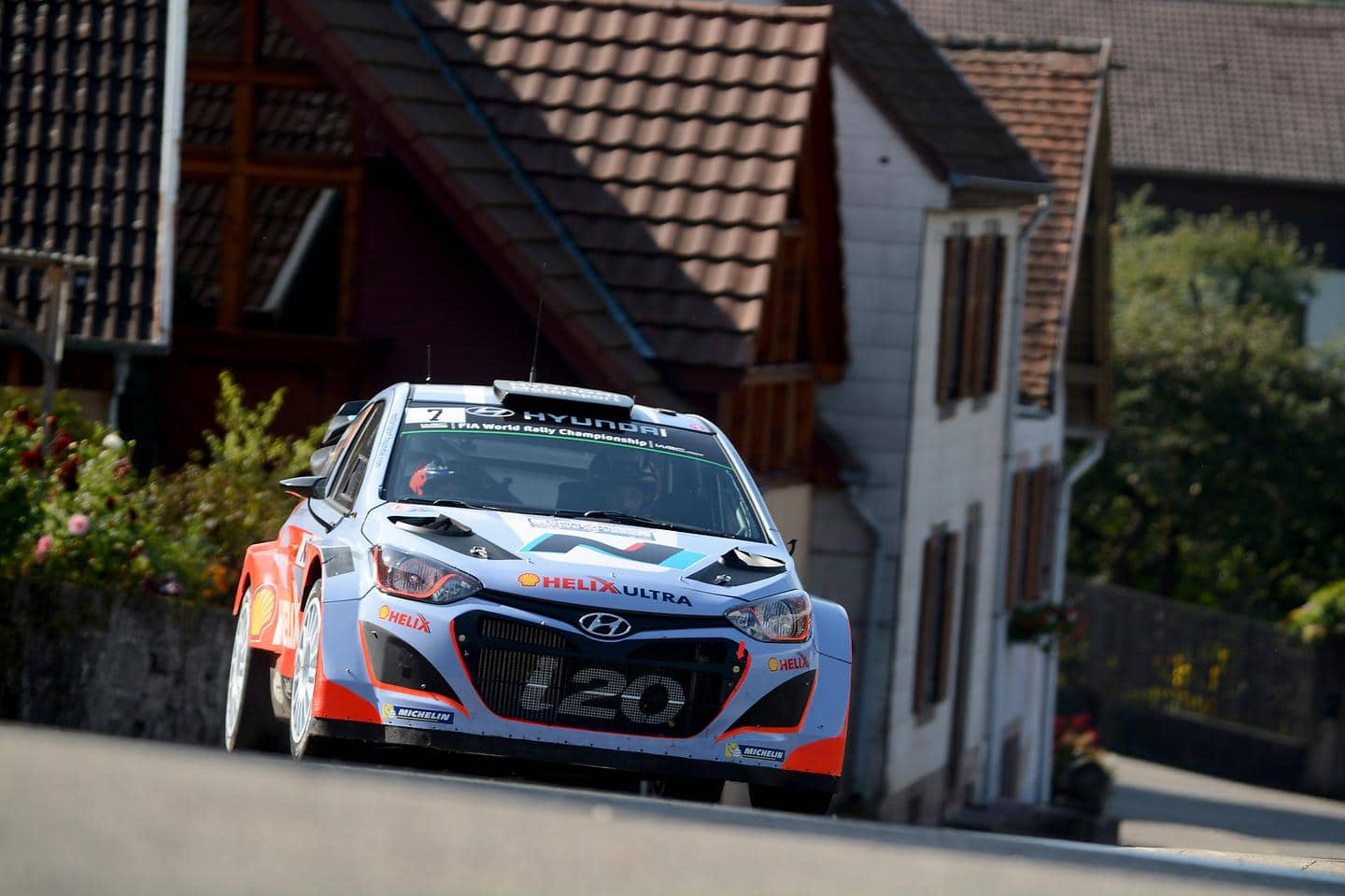 Mission accomplished for Hyundai Shell World Rally Team with three car finish in France