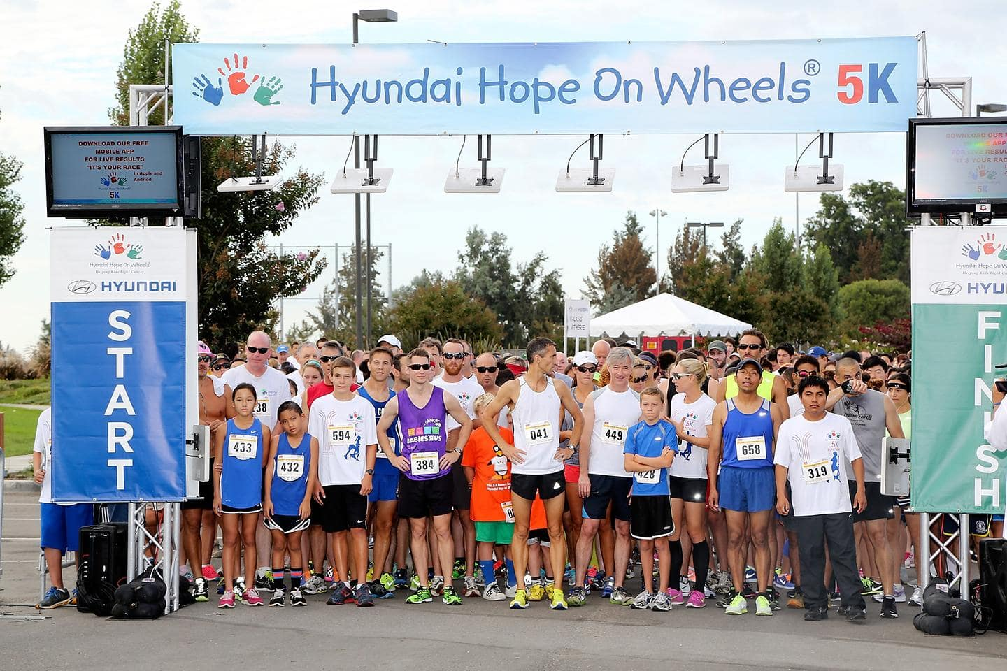 HYUNDAI HOPE ON WHEELS COMPLETES SUCCESSFUL FIFTH ANNUAL NATIONAL SEPTEMBER IS CHILDHOOD CANCER AWARENESS MONTH CAMPAIGN
