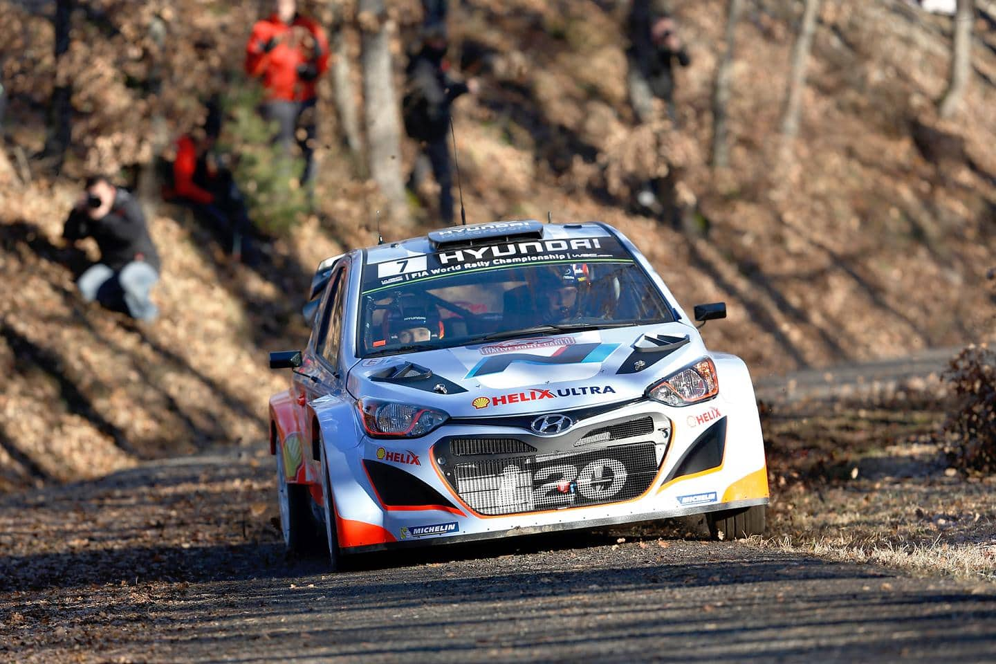 Hyundai Motorsport kicks off 2015 preparations with Monte Carlo and Sweden tests