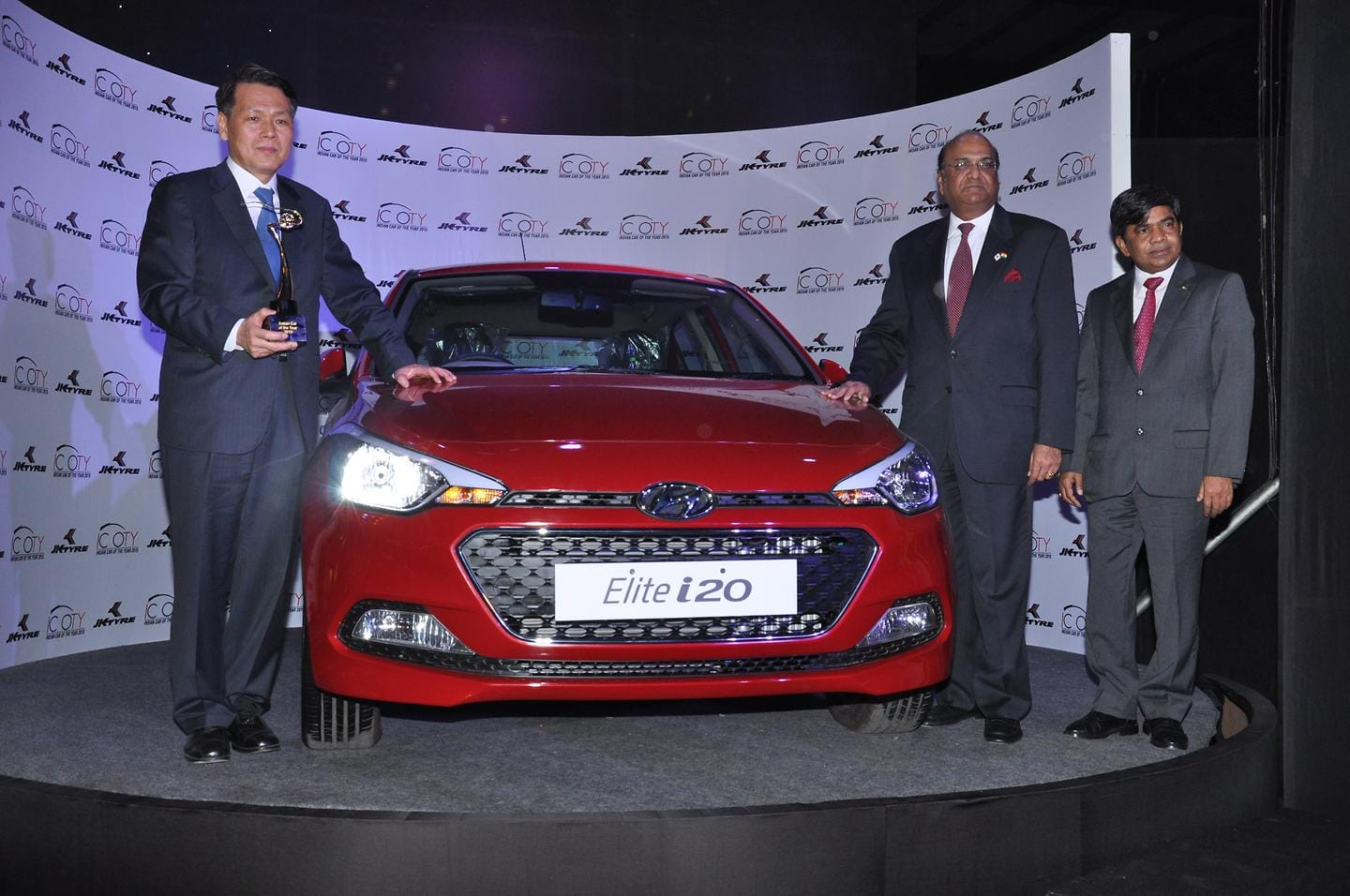 Hyundai Elite i20 wins Indian Car of the Year 2015 award (ICOTY)