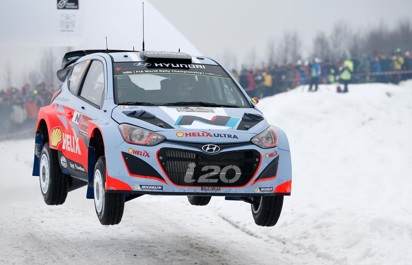 Hyundai Motorsport confirms driver line up for Rally Sweden