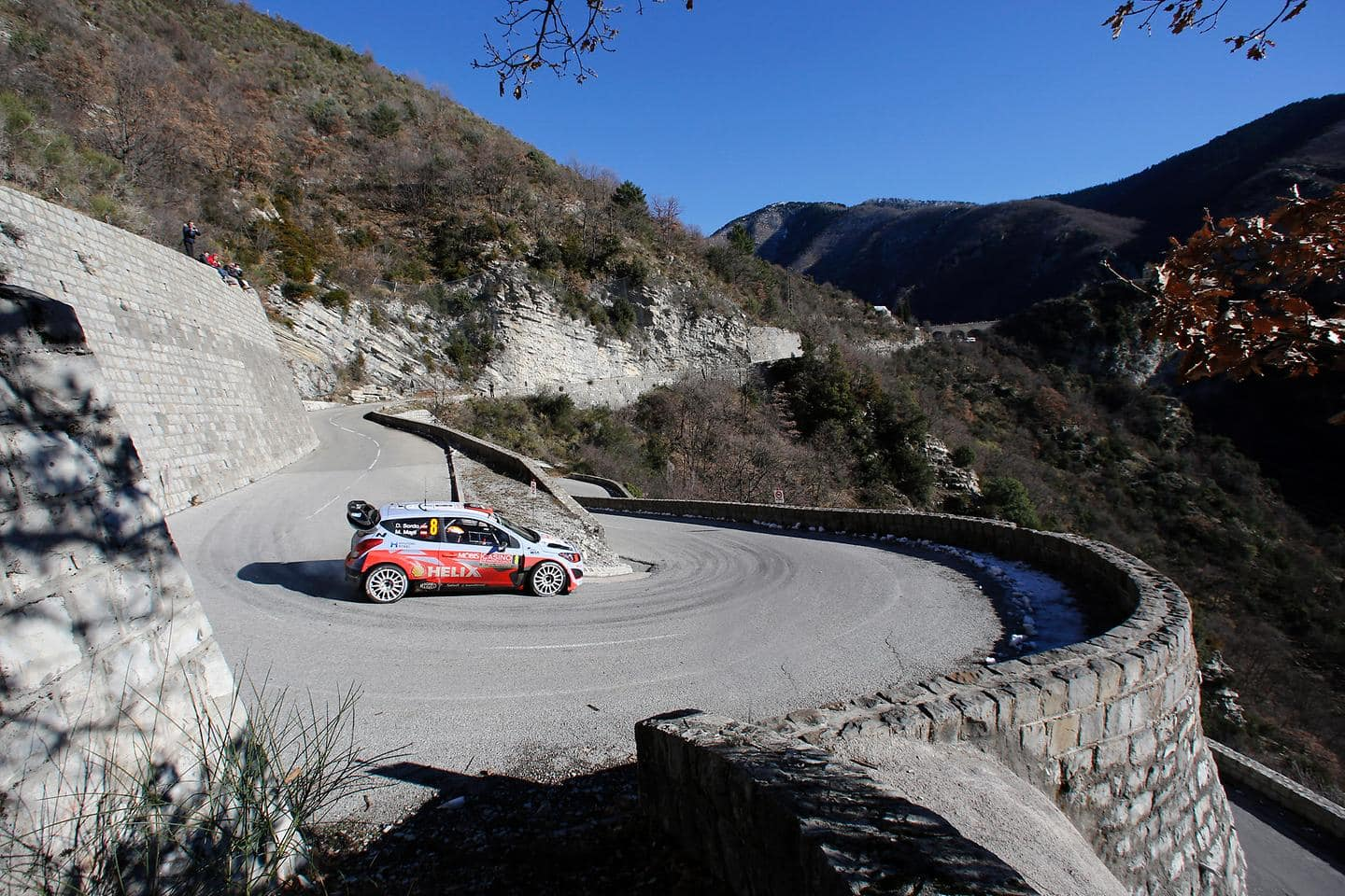 Hyundai Motorsport fights to the finish with both cars in Rallye Monte Carlo