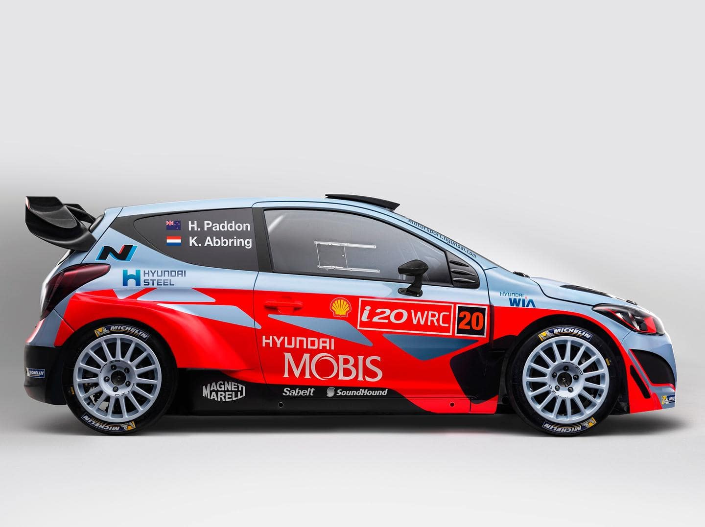 Hyundai Motorsport reveals Hyundai Mobis World Rally Team