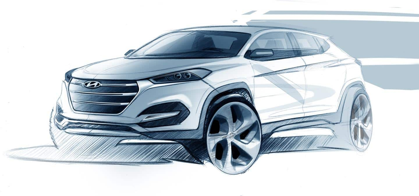 Hyundai Motor shows first design impression of the All-New Tucson