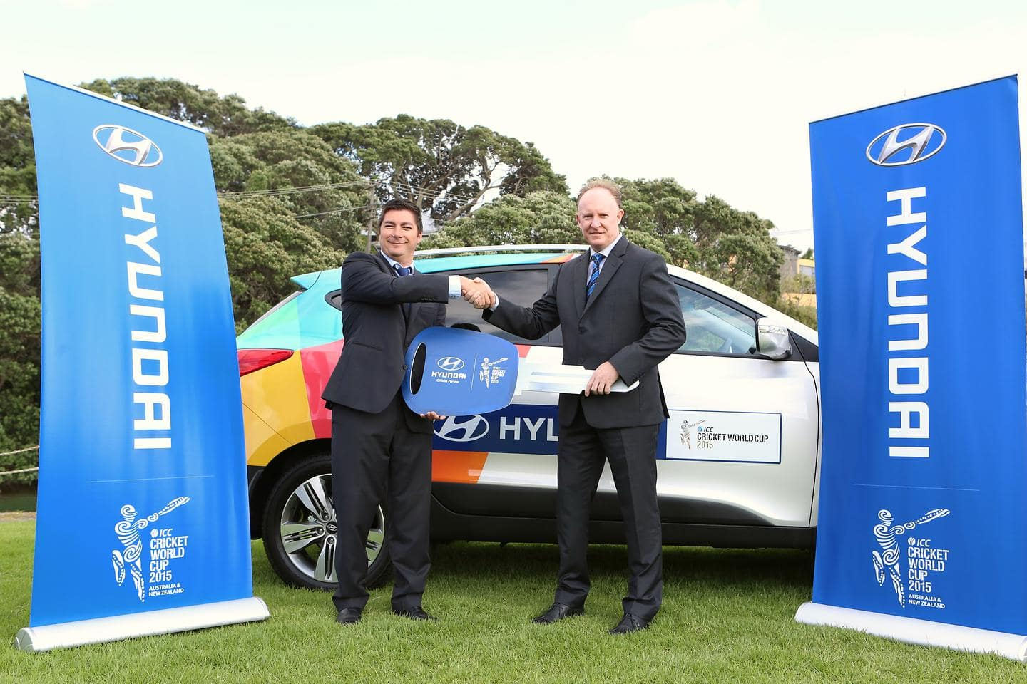 A Winning Wicket Hyundai New Zealand Supplies Official Fleet of 94 Vehicles to ICC Cricket World Cup 2015