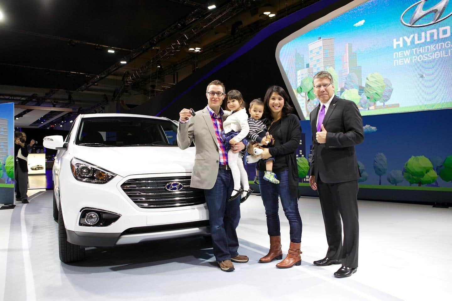 Hyundai Introduces Canada's First Fuel Cell Vehicle Customers