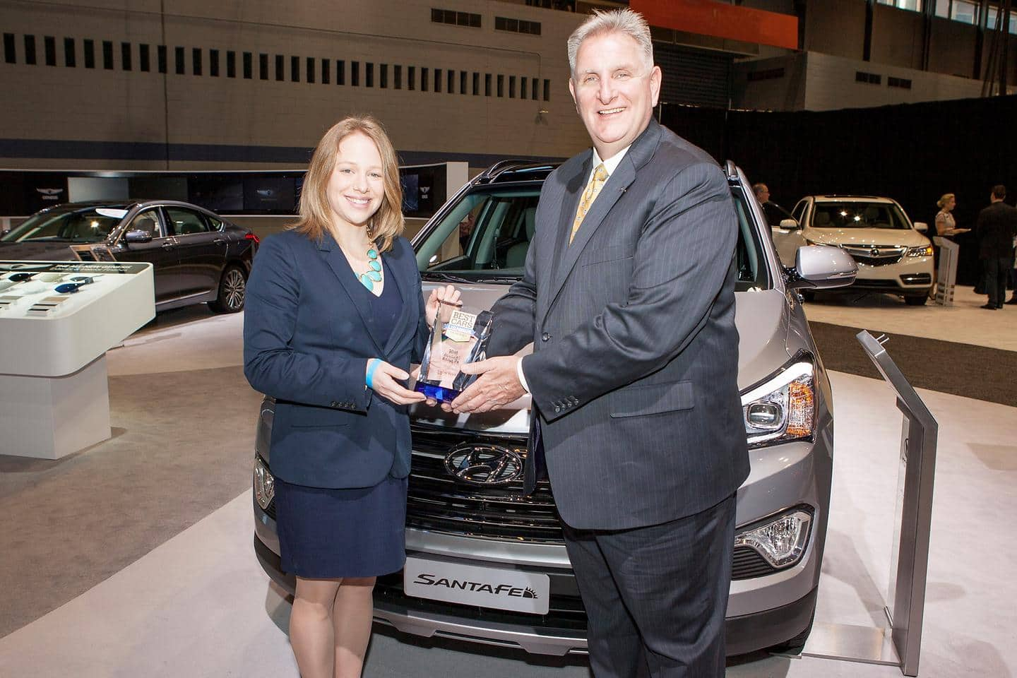 2015 Hyundai Sonata And 2015 Santa Fe Named Best Cars for the Money by U.S. News & World Report