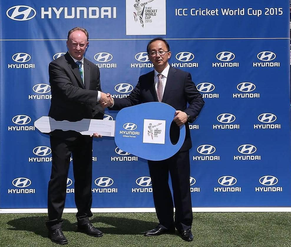On a Good Wicket International Cricket Council takes delivery of Hyundai vehicle fleet