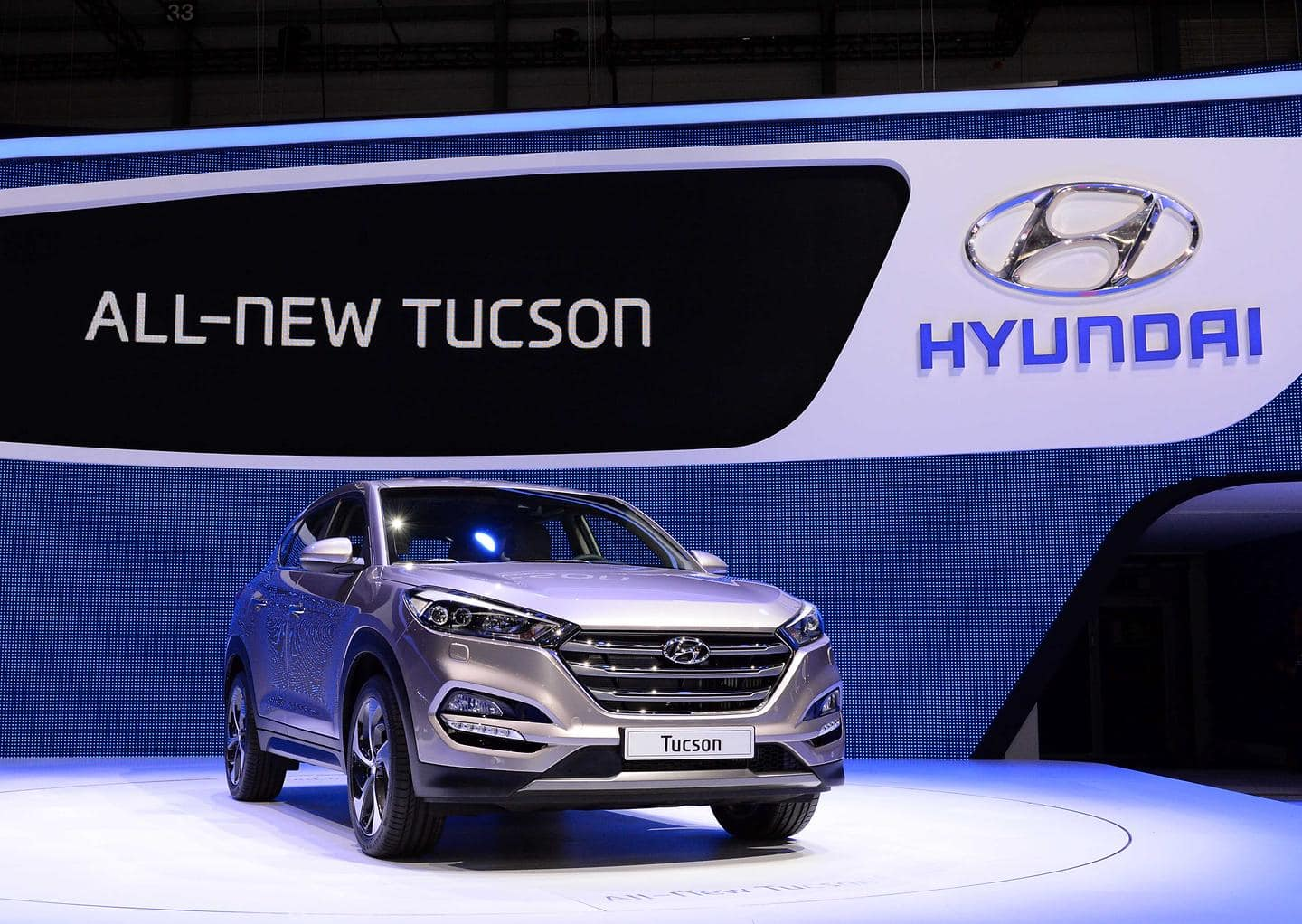 All-New Tucson at 2015 Geneva Motor Show