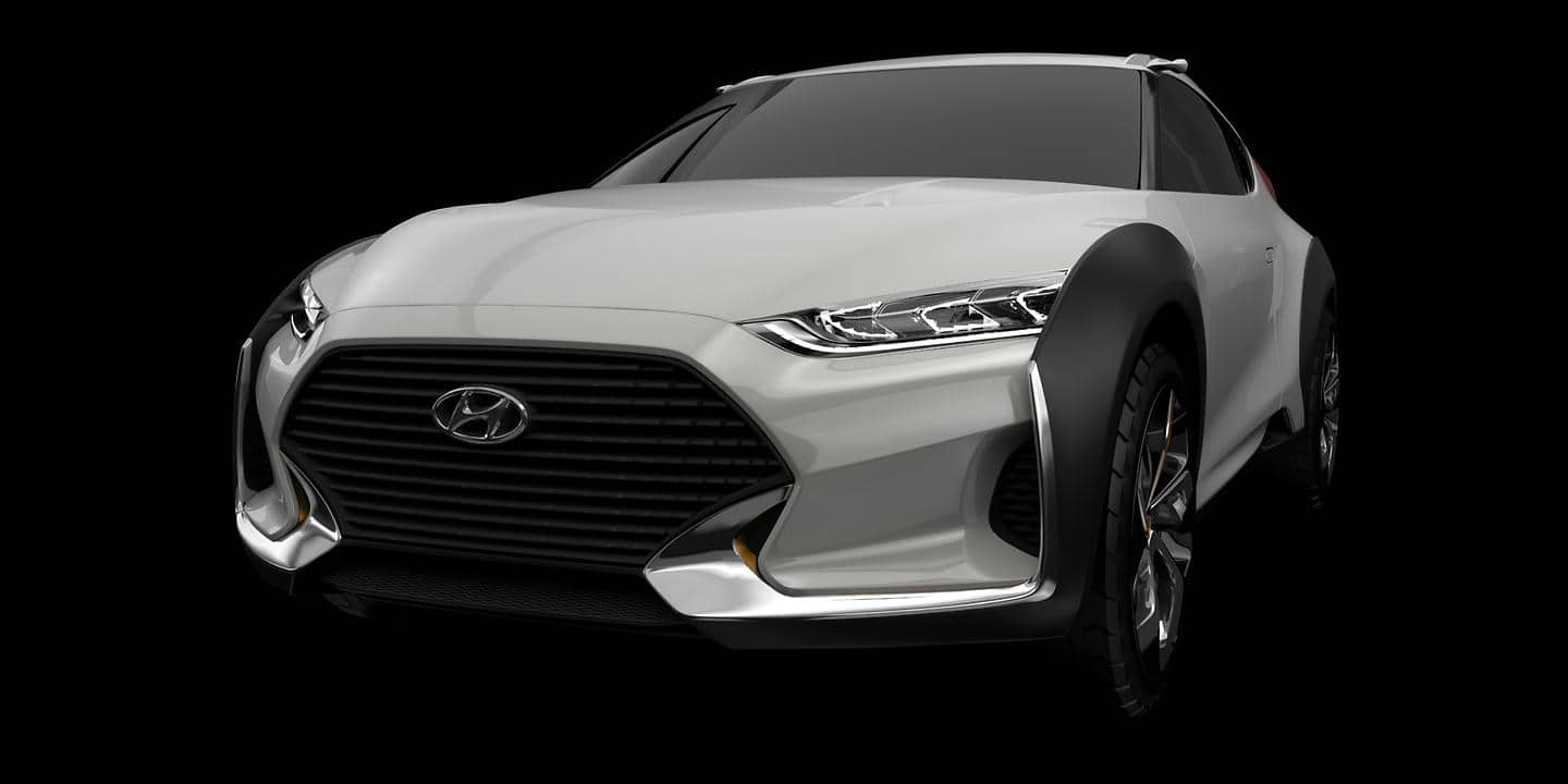 Hyundai Motor introduces 'Enduro' lifestyle CUV concept at 2015 Seoul Motor Show