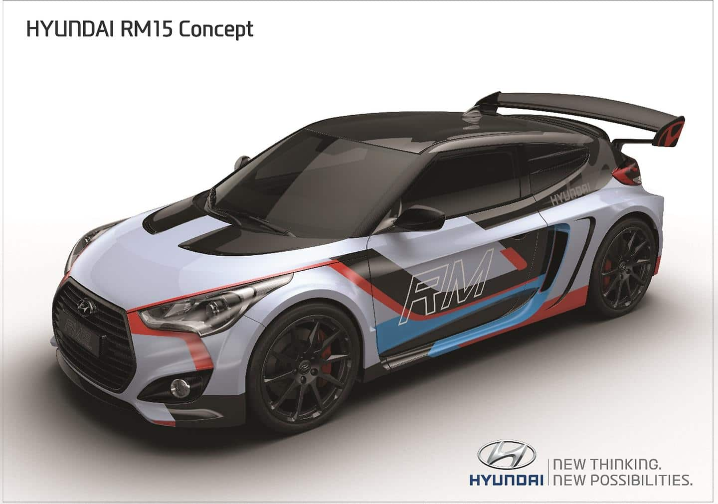 Engineered Without Compromise: Hyundai Motor's Mid-engined Coupe Concept 'RM15' Revealed at 2015 Seoul Motor Show