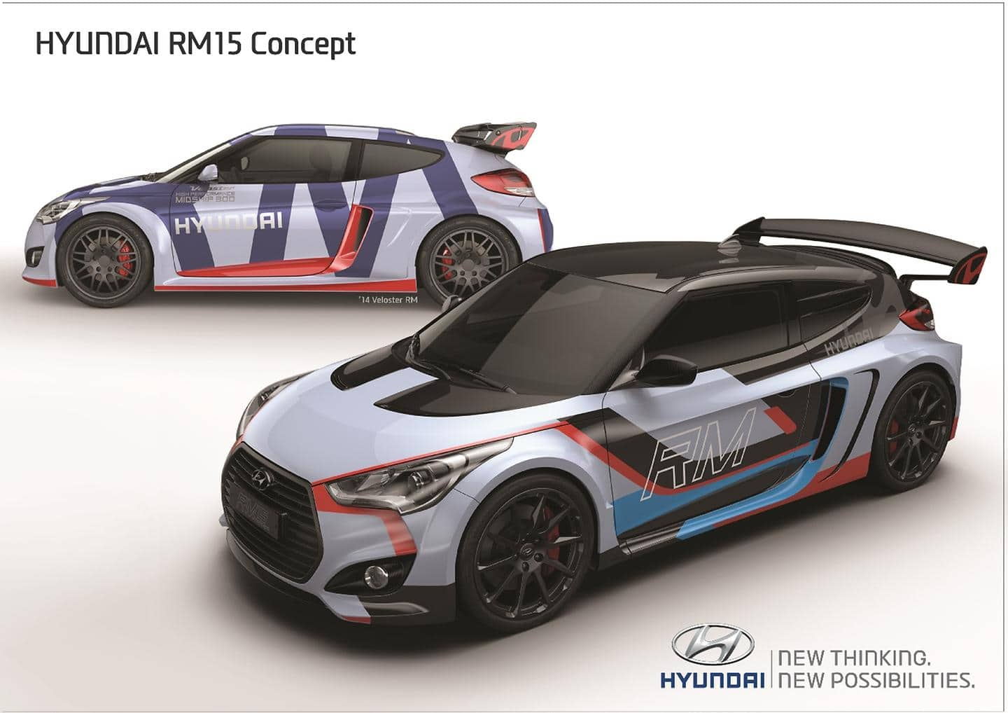 Hyundai Motor's Mid-engined Coupe Concept 'RM15' Revealed at 2015 Seoul Motor Show (3)