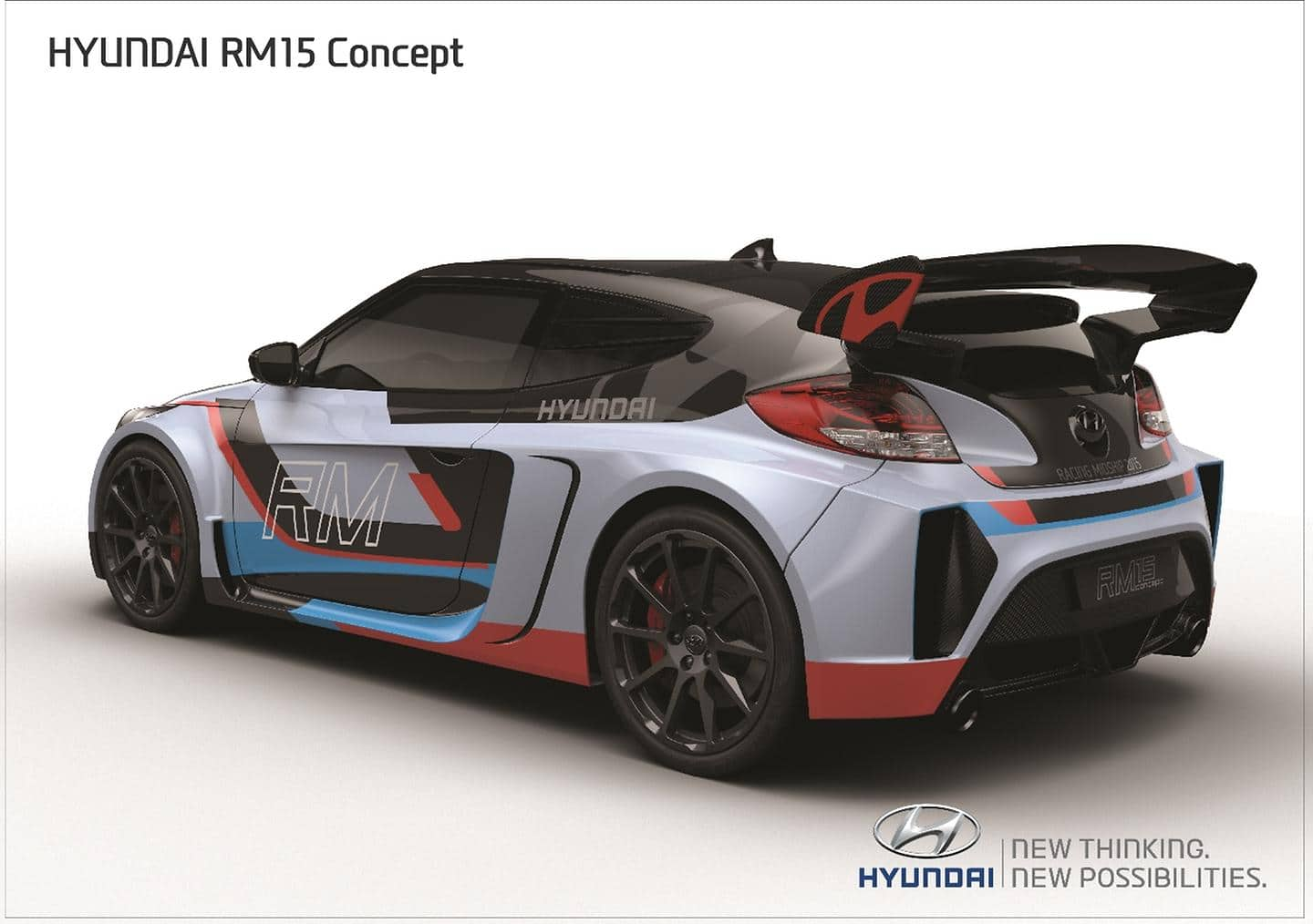 Hyundai Motor's Mid-engined Coupe Concept 'RM15' Revealed at 2015 Seoul Motor Show (4)
