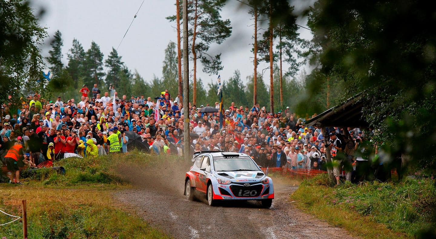 Hyundai Motorsport aims to continue strong run at high speed Rally Finland