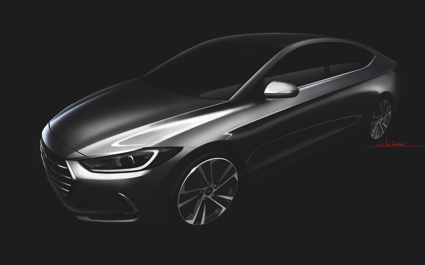 Sleek All-New Elantra Reveals its Dynamic Impression