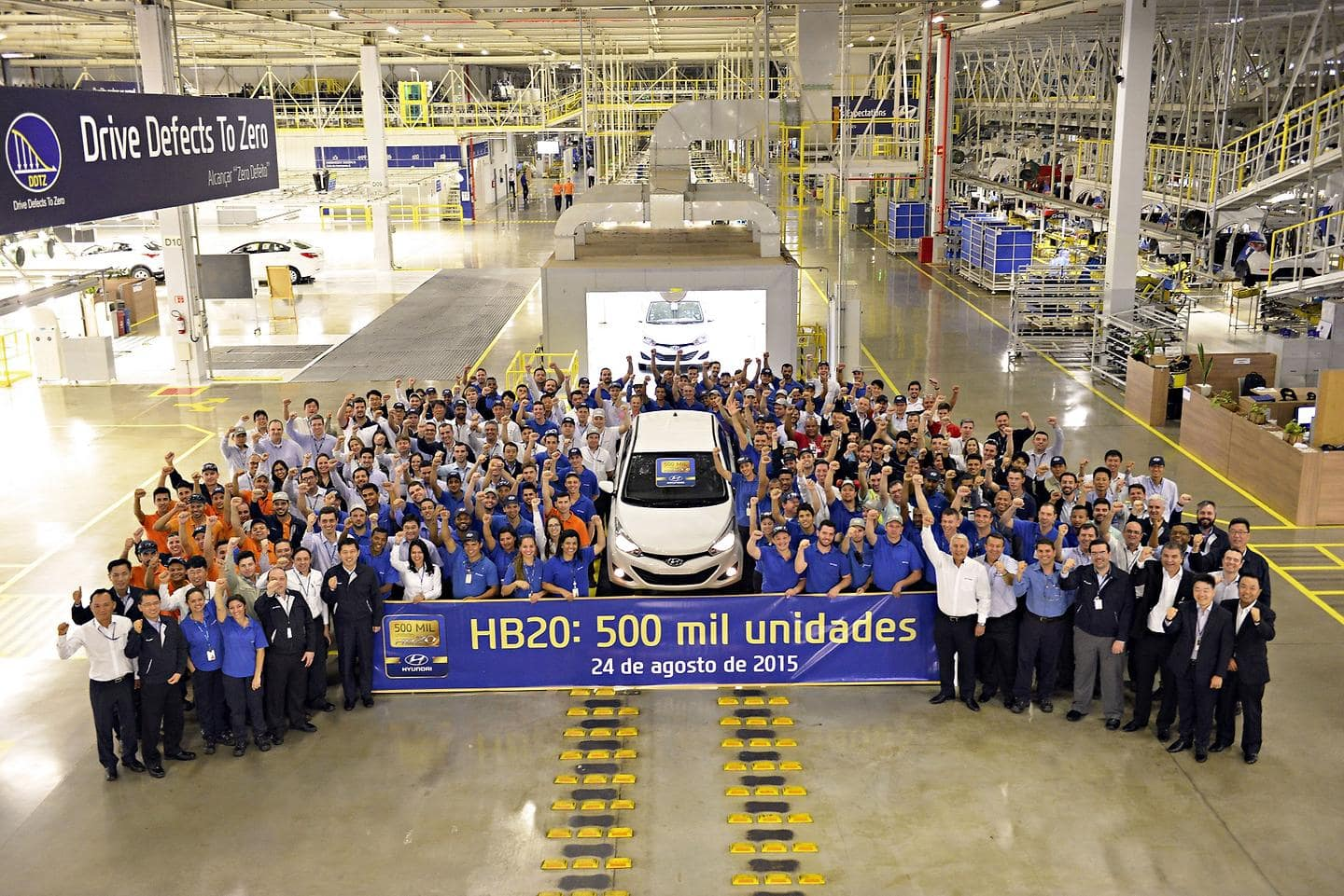 Hyundai HB20 Production Passes 500K Landmark