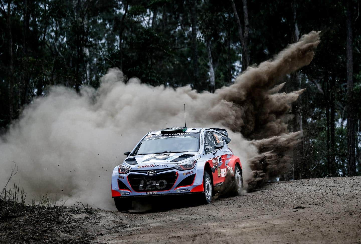 Hyundai Motorsport heads to Australia to consolidate second place in 2015 WRC Manufacturers Championship
