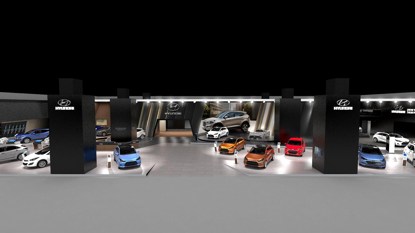 New Motor Show booth at Frankfurt Motor Show