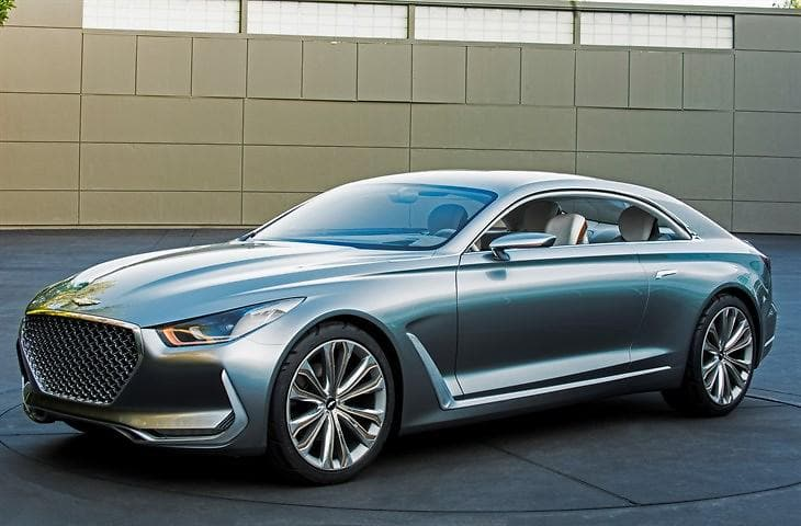 Hyundai Motor's Vision G Coupe Concept Previews Design Evolution and Advanced Technologies at Frankfurt Motor Show