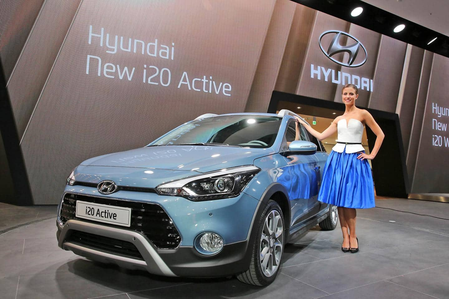 New i20 Active - rugged crossover for urban adventure