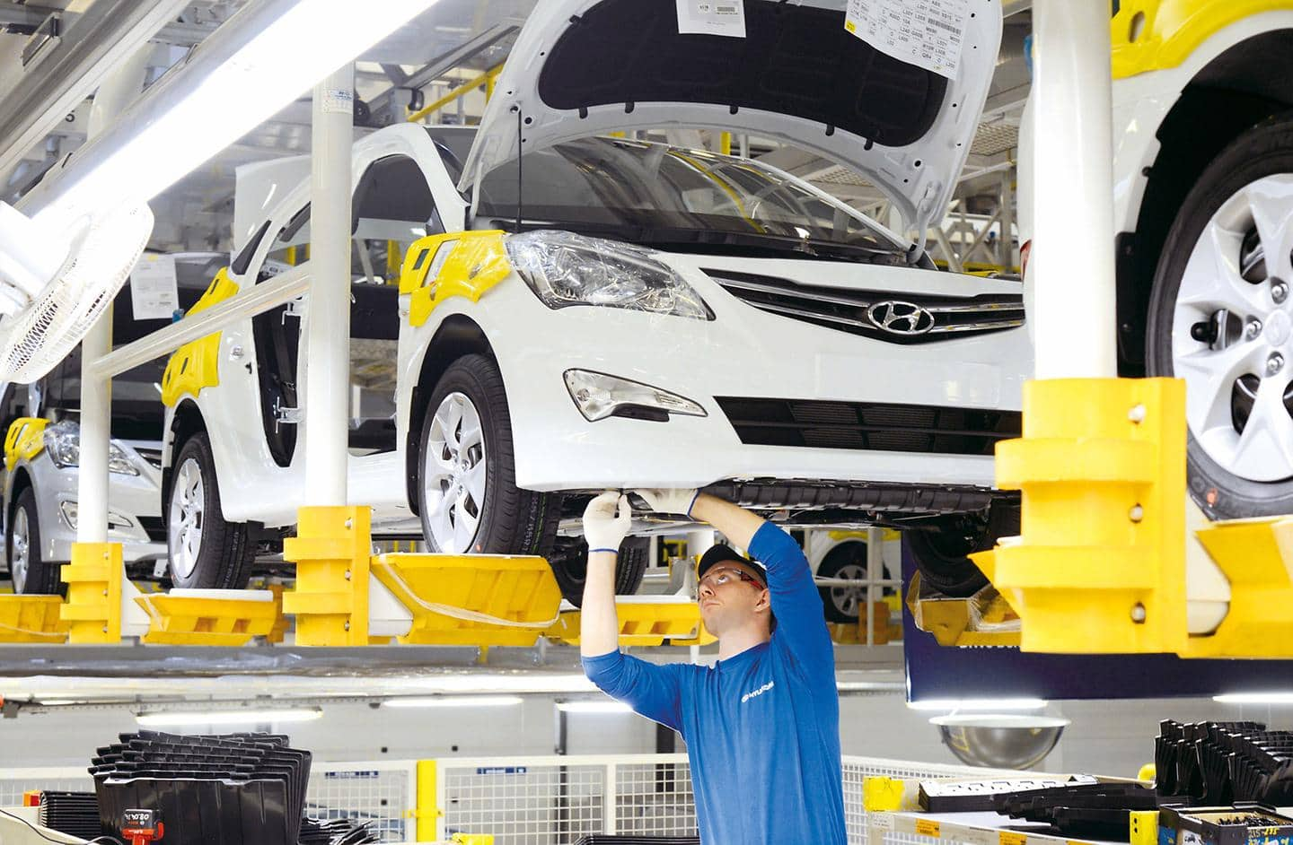 Hyundai Motor Manufactures One Millionth Car at Its Plant in Russia (1)
