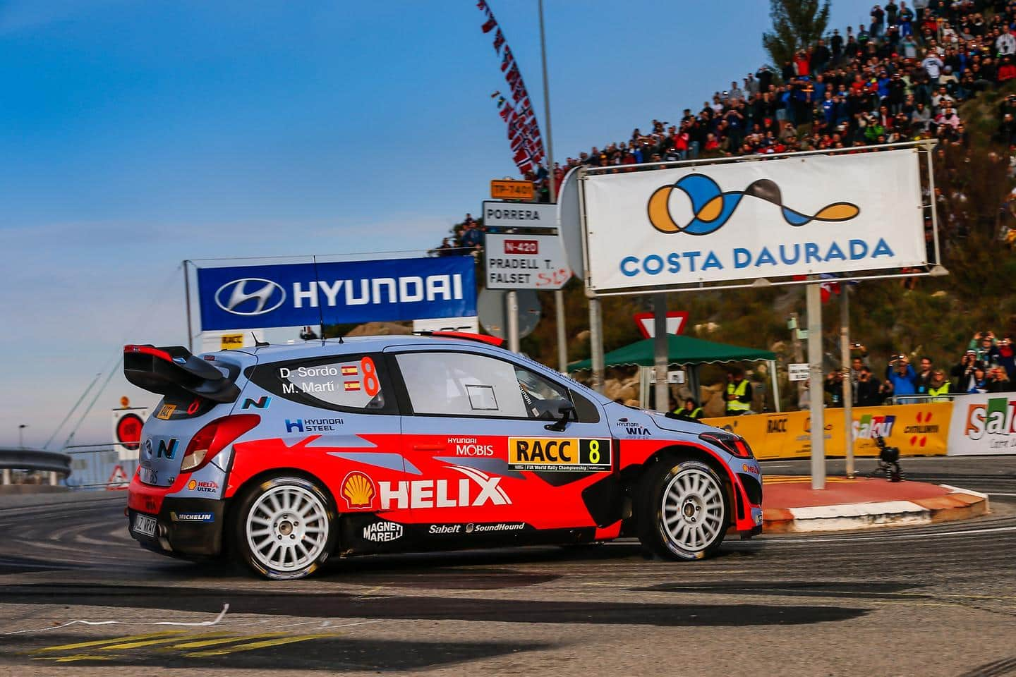 Fantastic Spanish podium for Hyundai Motorsport as Dani Sordo takes third place