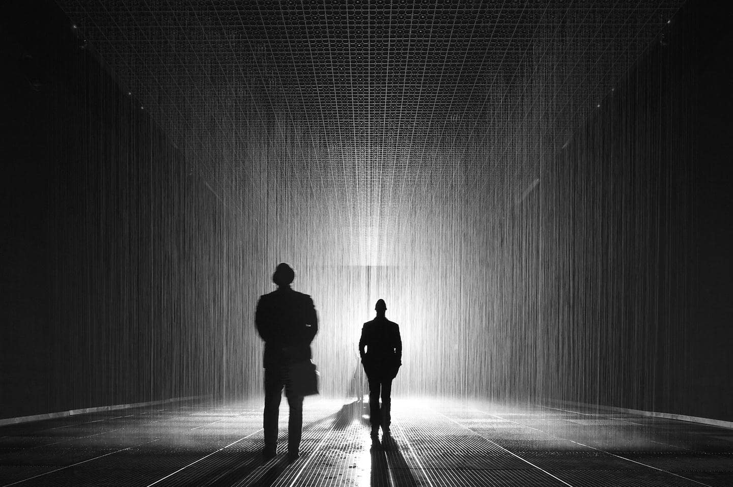 Hyundai Motor and LACMA's first project 'Rain Room' exhibit opens in Los Angeles 2