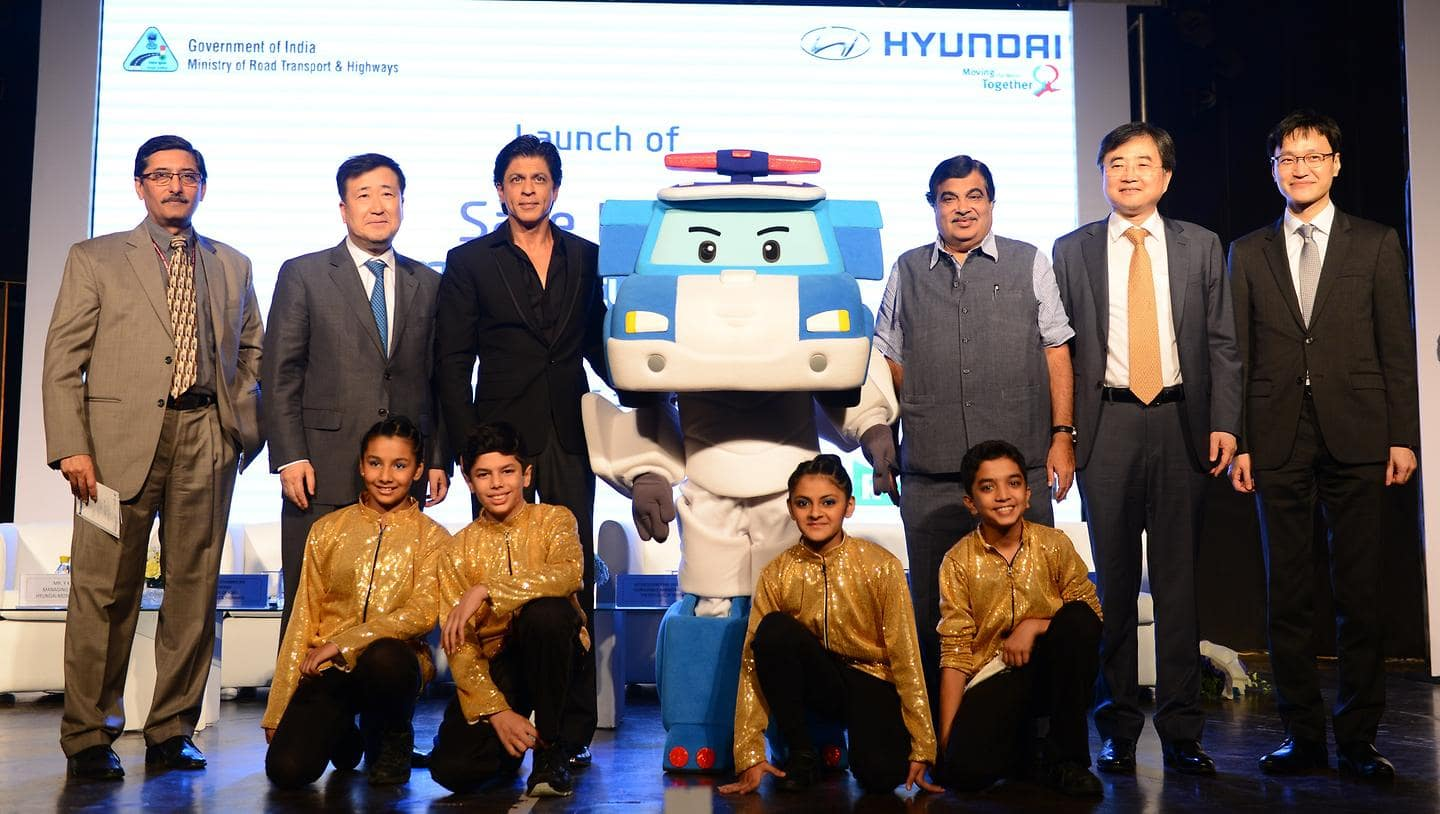 Hyundai Motor Launches 'Safe Move - Traffic SAfety Campaign' with Indian Ministry of Road Transport and Highways