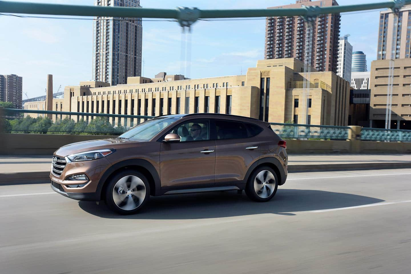 Hyundai Motor's Tucson Named Finalist for 2016 Green SUV of the Year