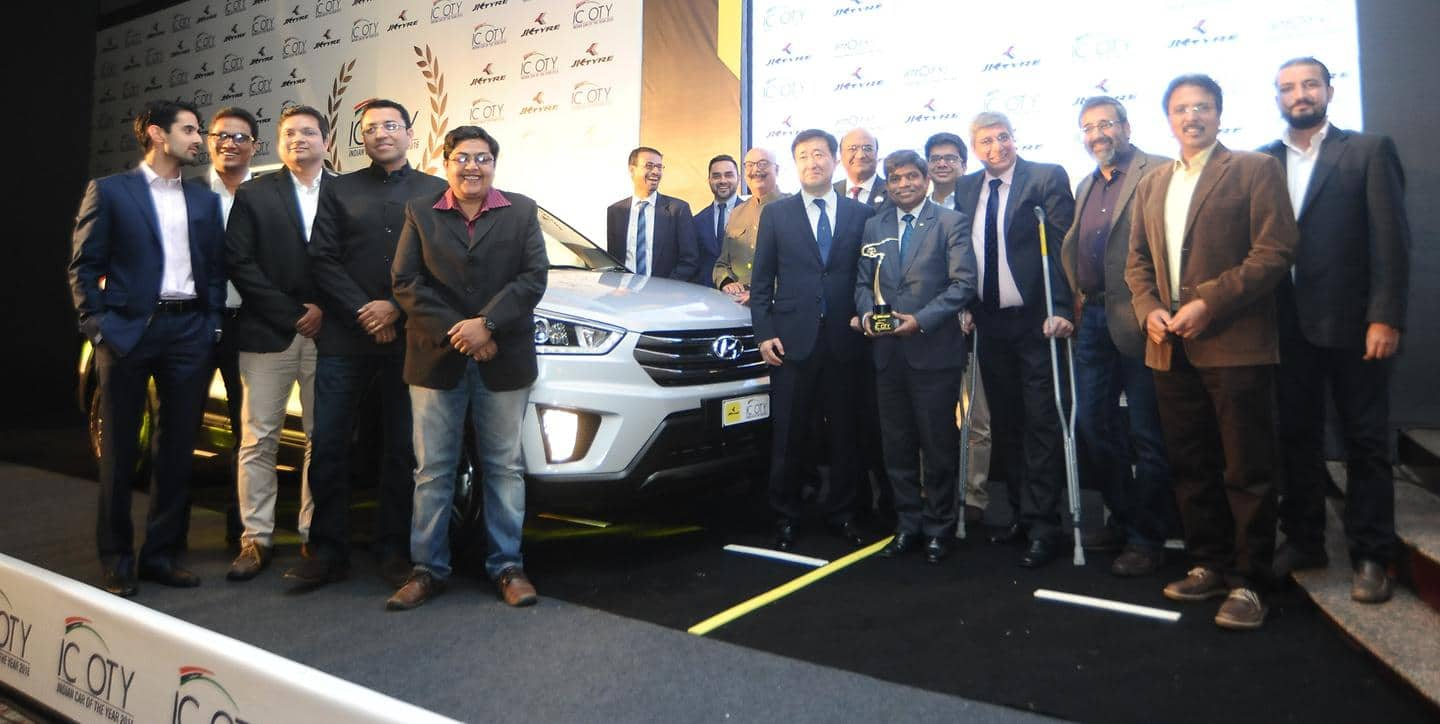 Hyundai Motor's CRETA wins Indian Car of the Year 2016 (ICOTY) 2