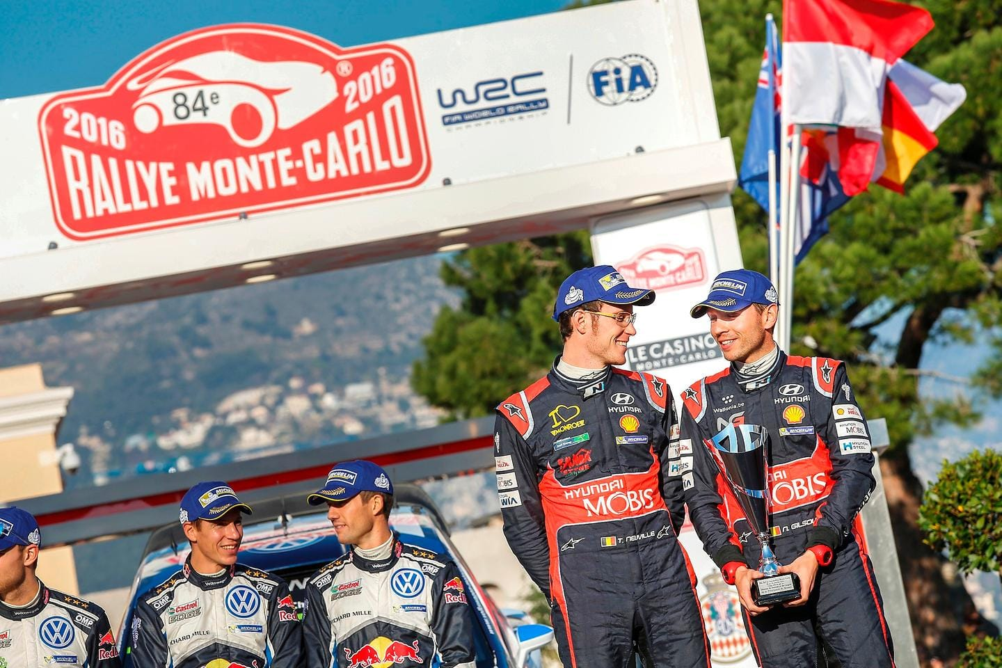 New Generation i20 WRC kicks off 2016 WRC season with a podium finish at Rallye Monte-Carlo