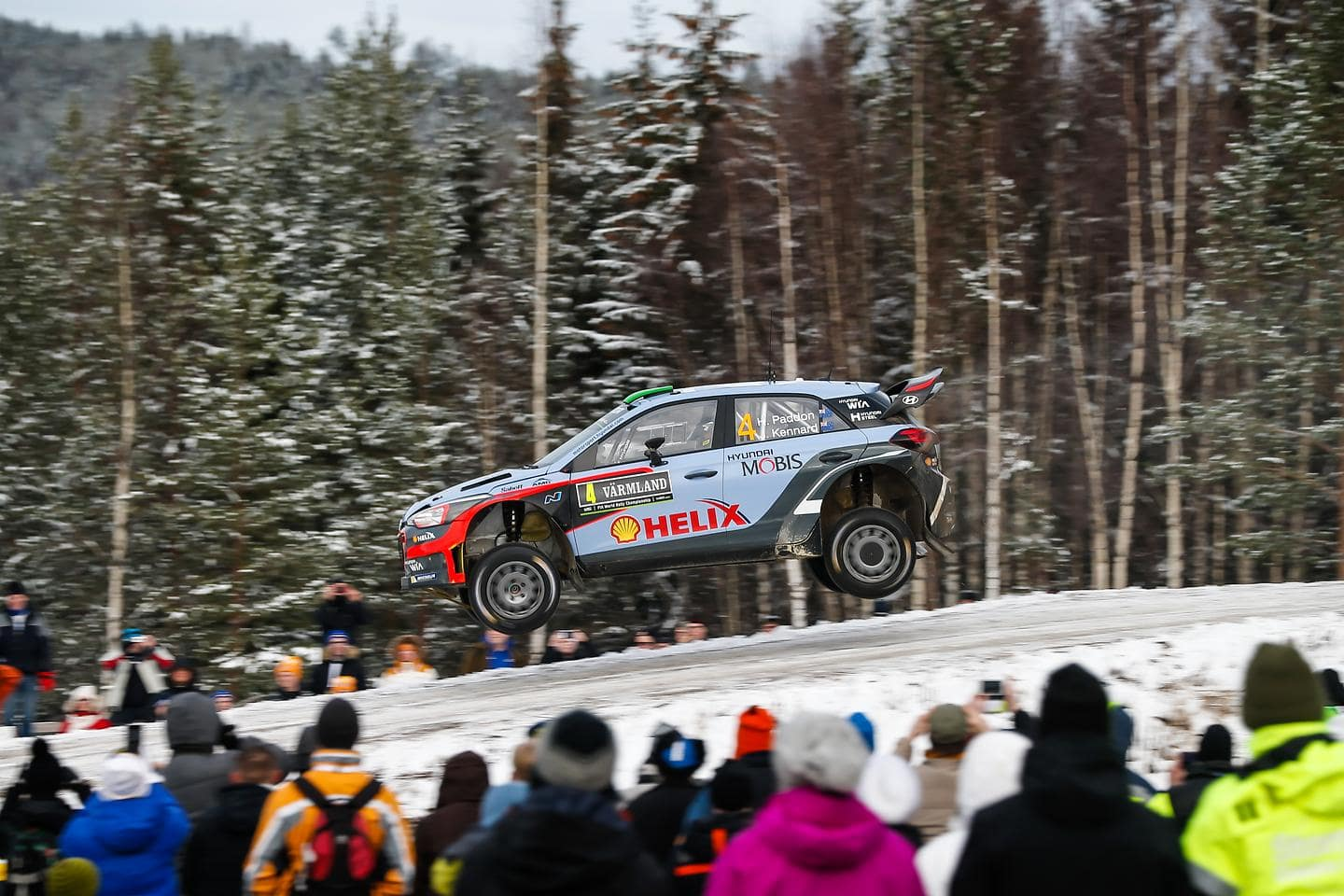 Second Podium for New Generation i20 WRC as Hayden Paddon Seals Second in Sweden 1