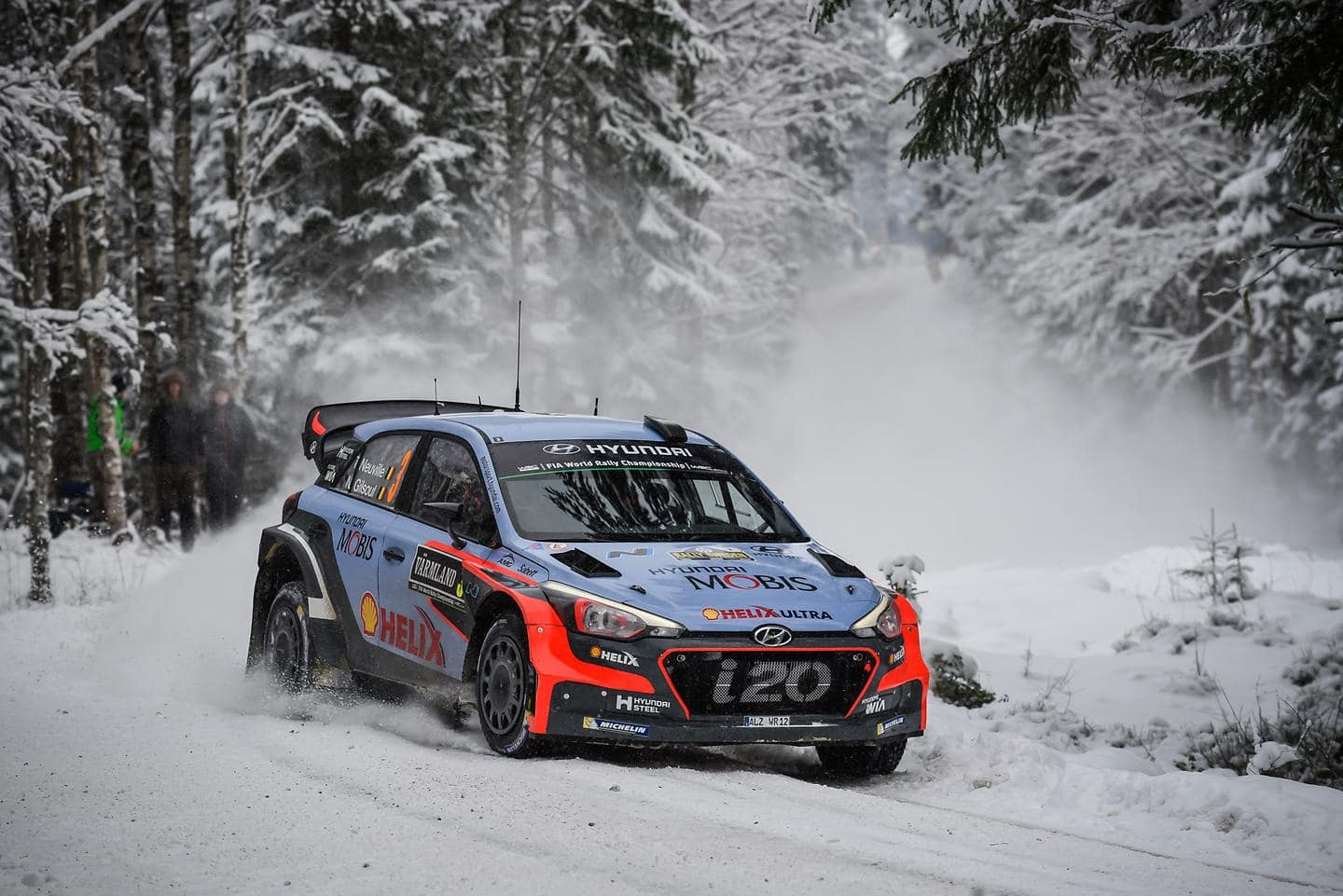 Second Podium for New Generation i20 WRC as Hayden Paddon Seals Second in Sweden 2