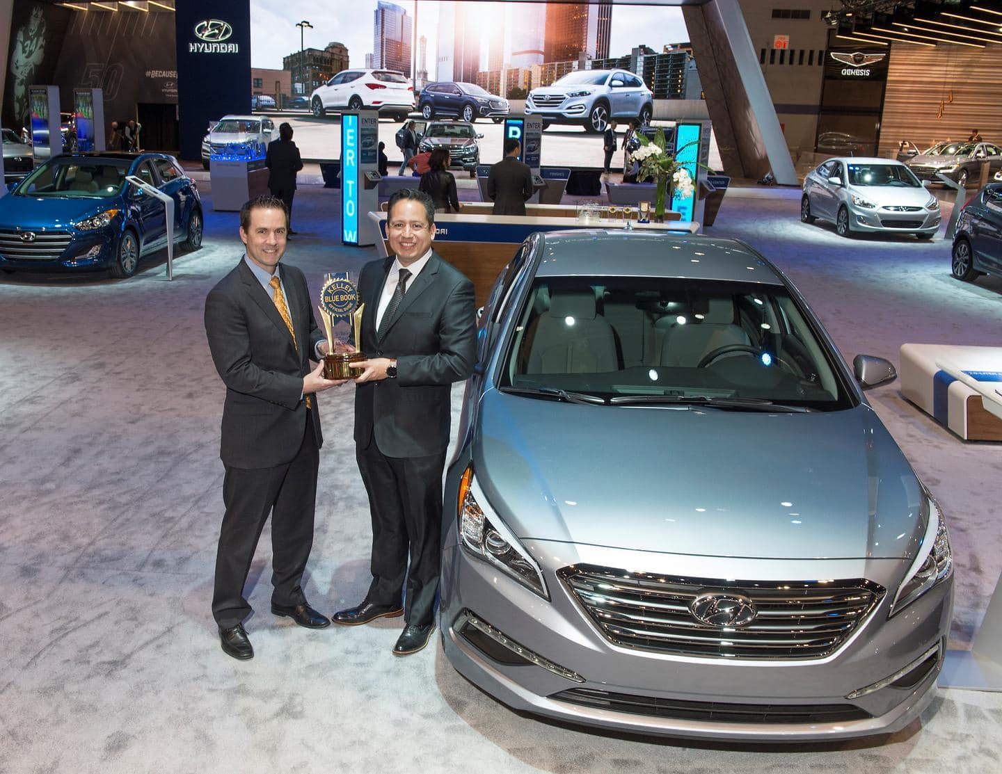 Hyundai Motor Wins Best Brand in Kelley Blue Book's 2016 5-Year Cost to Own Awards