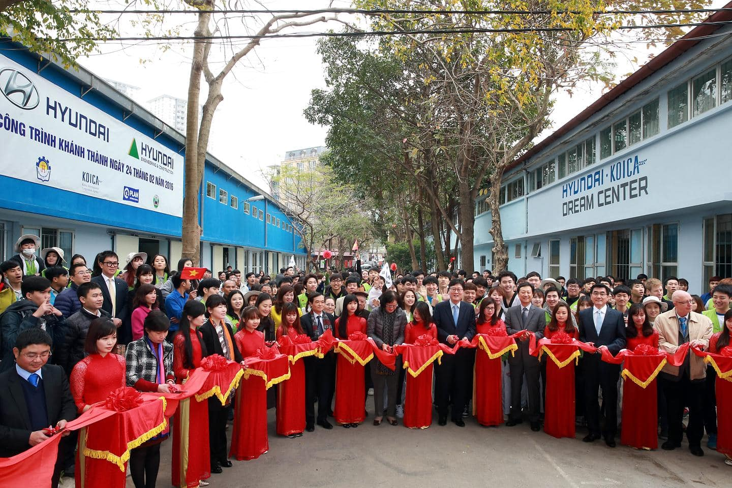 Hyundai Motor Holds Inauguration Ceremony of the Fourth 'Hyundai-KOICA Dream Center' in Vietnam