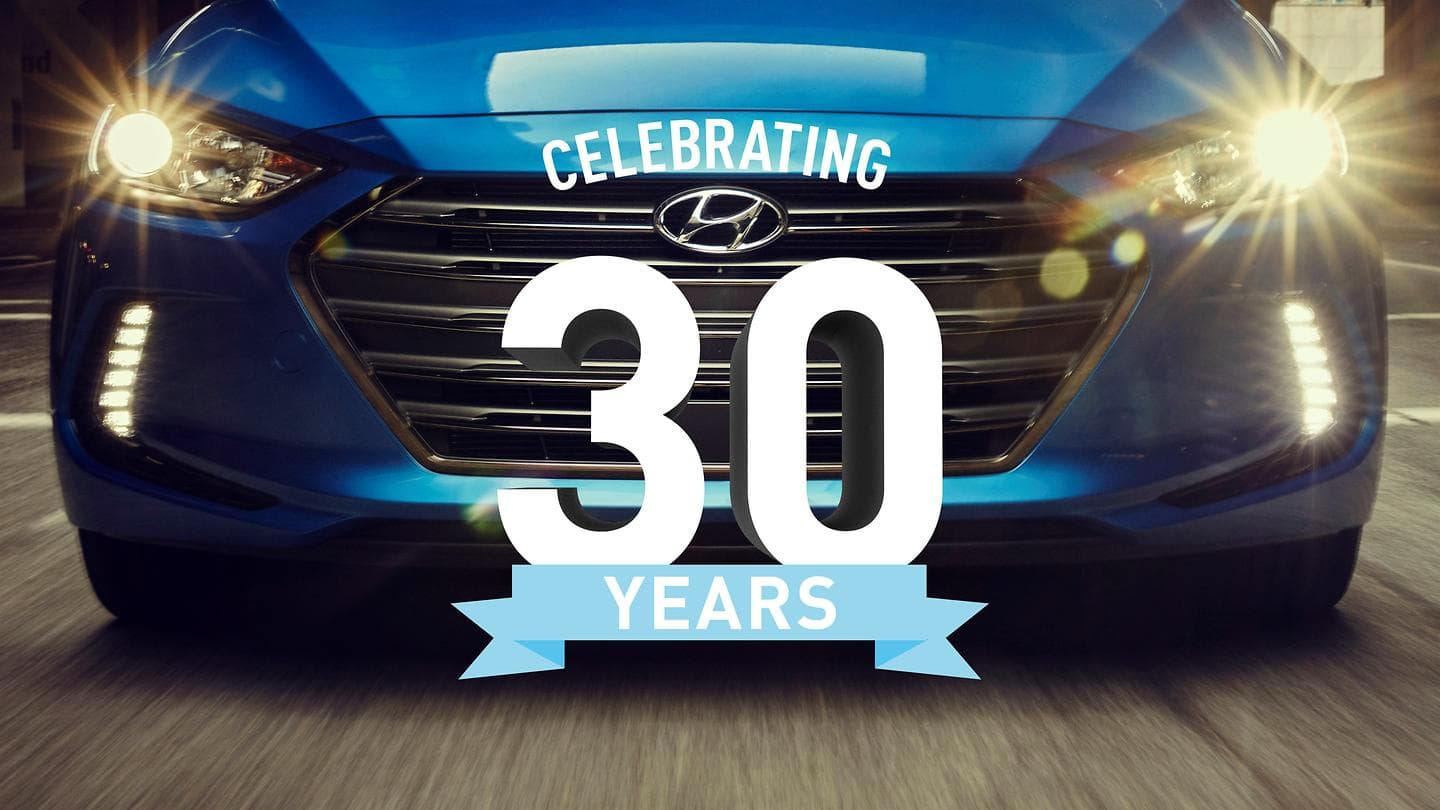 Hyundai Motor America Celebrates 30 Years in the United States