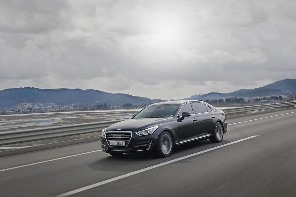 Genesis G90 celebrates European debut  at Geneva Motor Show 2016